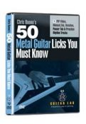 50 Metal Guitar Licks you must know!