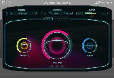 Unmix Drums EDU