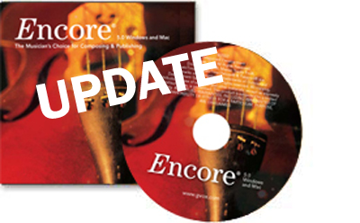 ENCORE UPDATE Mac&Pc