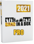 Band-in-a-Box 2021 Pro Win Box USB