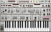 LuSH-101 Virtuell synthesizer