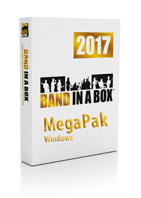 Band-in-a-Box Mega Site Lic 6-25 UPG. Win