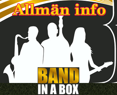 Band-in-a-Box Allmän INFO