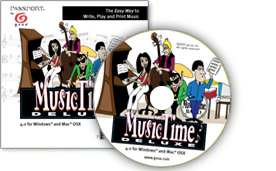Music Time Deluxe 4 för PC/MAC