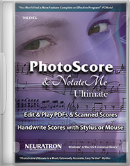 PhotoScore & NotateMe Ultimate