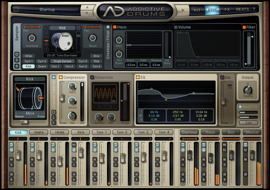 addictive drums vst location