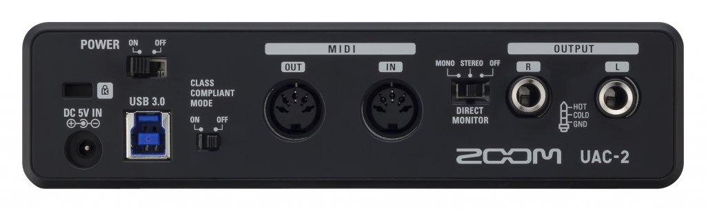 zoom tac 2r thunderbolt ljudkort ljudkort ljudmoduler h rdvara. Black Bedroom Furniture Sets. Home Design Ideas